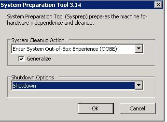 How to sysprep a virtual machine