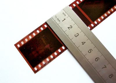 Hvordan en 135 (35) film ser ut