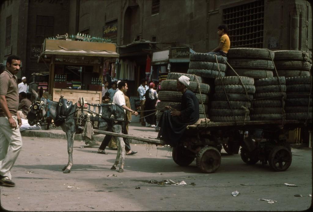 Eksempel på innscannet lysbilde - Damaskus 1976