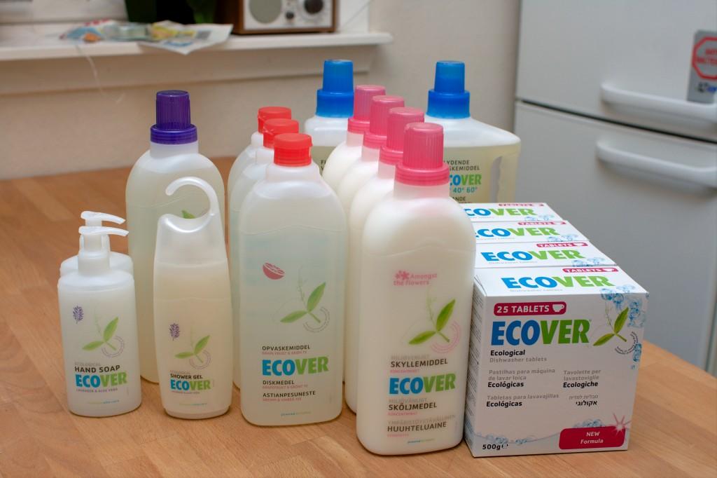 Ecover Vaskeprodukter