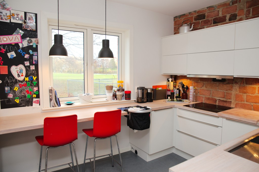 Kjøkkenet i leiligheten